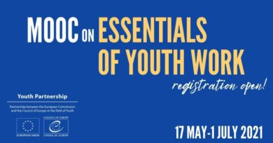 MOOC on Essentials of Youth Work 2021