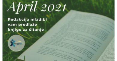 APRIL: Redakcija mladibl vam predlaže knjige za čitanje