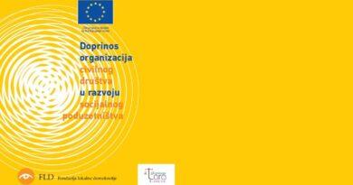 Javni poziv za dodjelu grant podrške socijalnim preduzećima i socijalnim zadrugama
