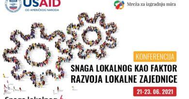Najava događaja: Konferencija Snaga lokalnog kao faktor razvoja lokalne zajednice