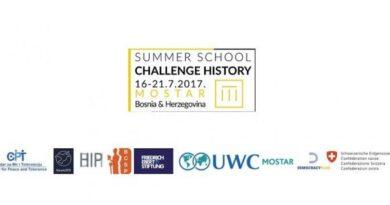 Poziv srednjoškolcima na ljetni kamp Challenge history