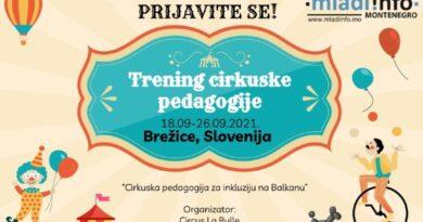 Prijavite se za trening cirkuske pedagogije