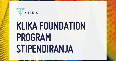 Konkurs za dodjelu stipendija kompanije Klika za 2021/22. školsku godinu