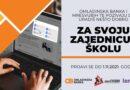 OMLADINSKA BANKA & mreSVUBiH: 50.000 KM za ideje učenika i učenica srednjih škola u BiH