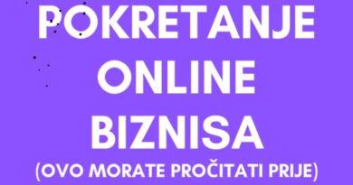 Pokretanje online biznisa – Šta morate znati prije?