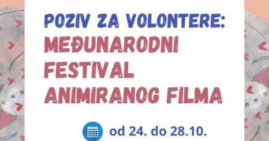 Poziv za volontiranje na Međunarodnom festivalu animiranog filma BANJALUKA 2021!