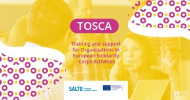 TOSCA – online training and support for organisations active in the volunteering actions in the European Solidarity Corps (ESC)